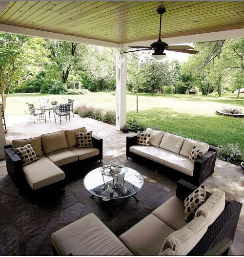 Open Concept Comfort In The Out Doors | CMI Construction CMI Construction
