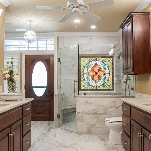 Marble Style Bathroom